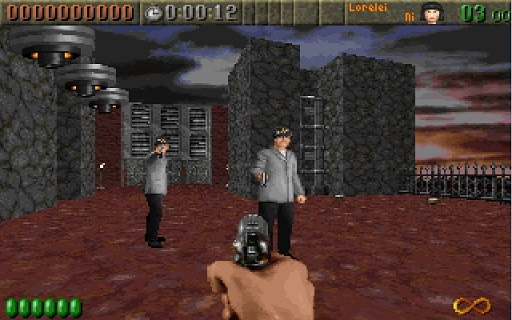 rise of the triad rott gameplay
